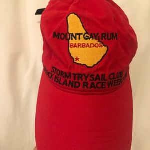 Accessories - Brand new! Mount Gay Race Week Hat